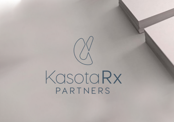 Kasota Rx Partners logo and business card