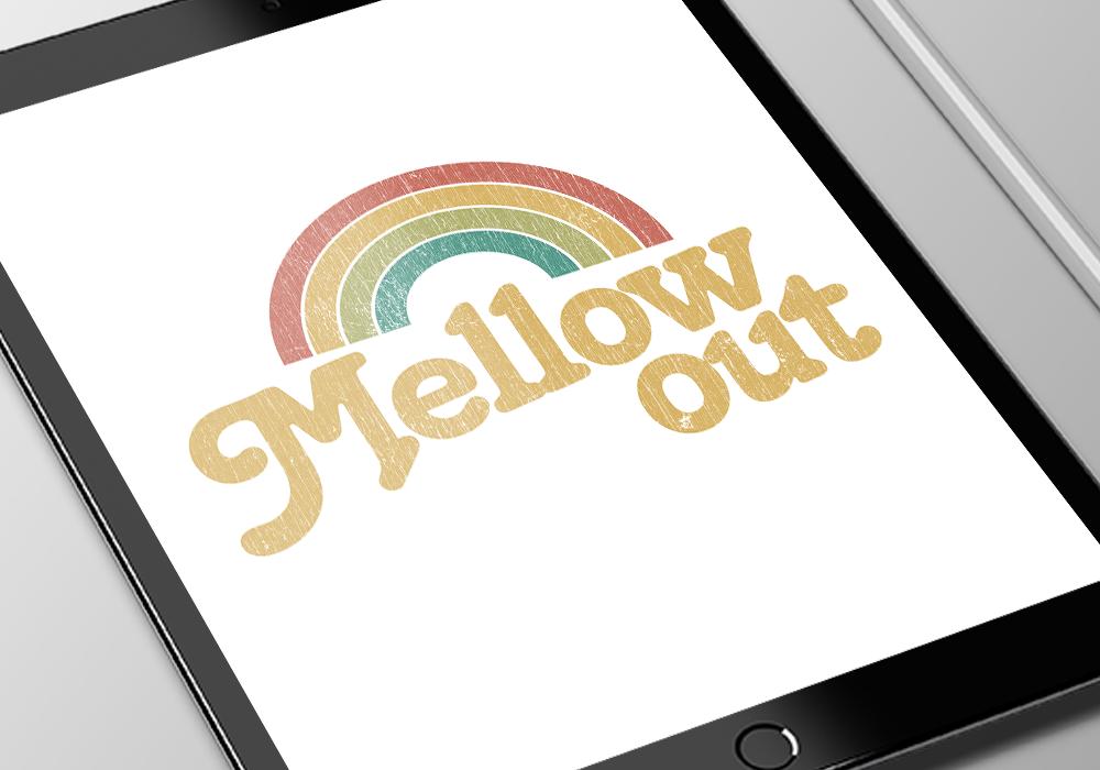 MellowOut ipad closeup