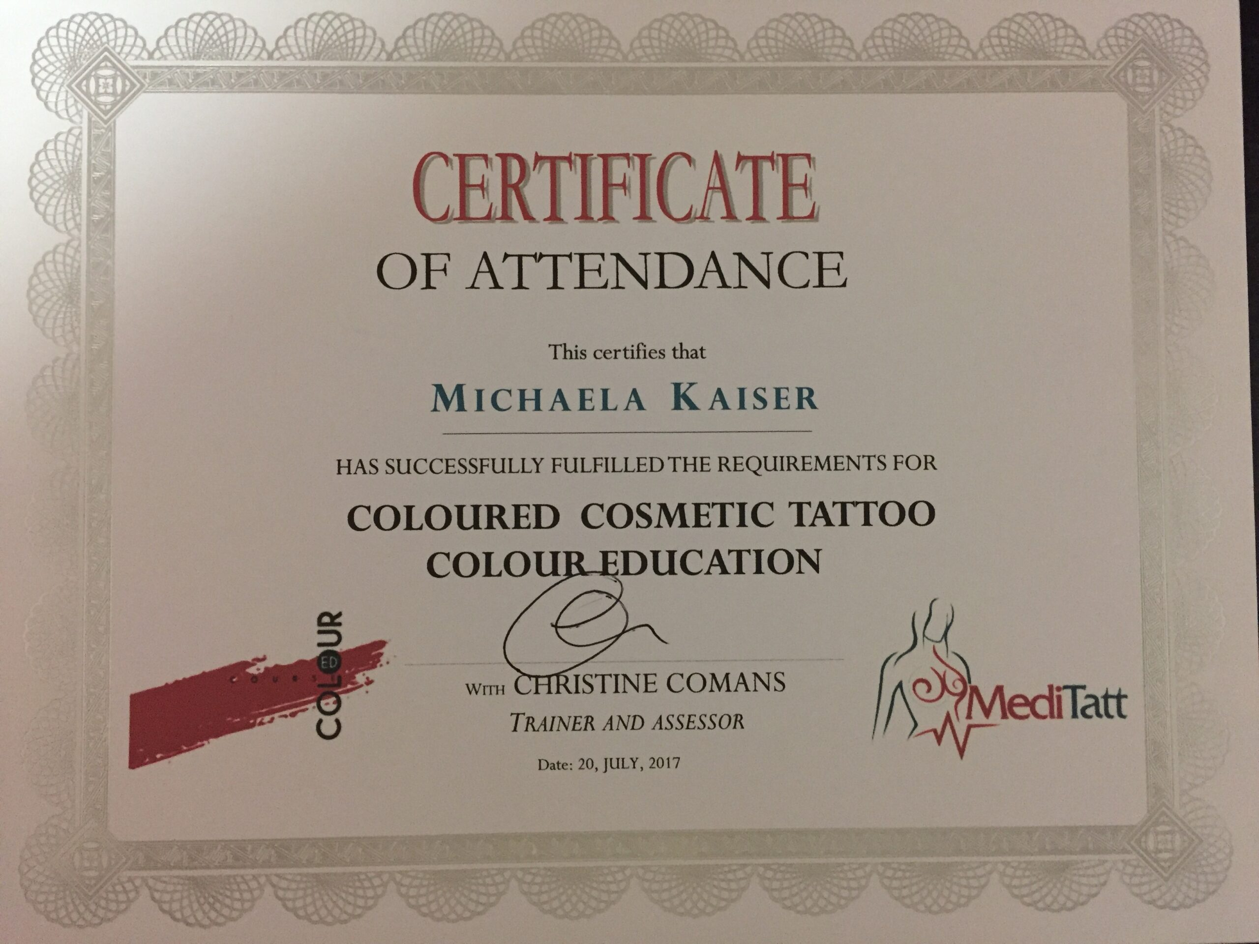 Cosmetic Tattoo