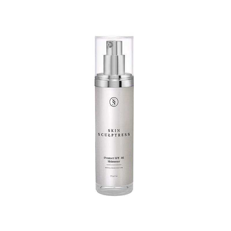 Skin Sculptress Plain Background Protect SPF46 Shimmer