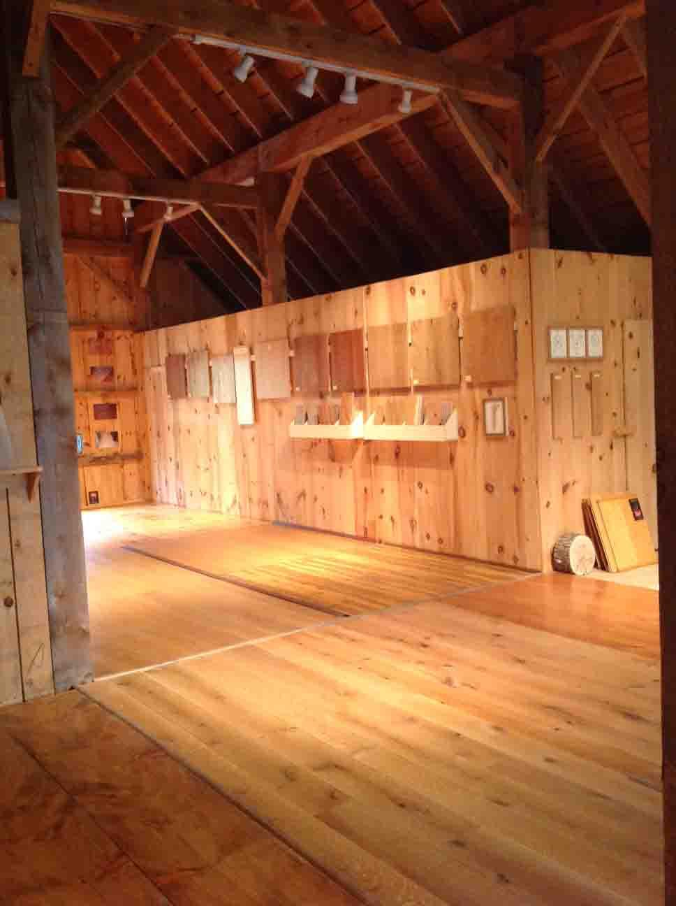 Vonderosa Wide Plank Flooring Barn Showroom, New Hampshire, Best Of