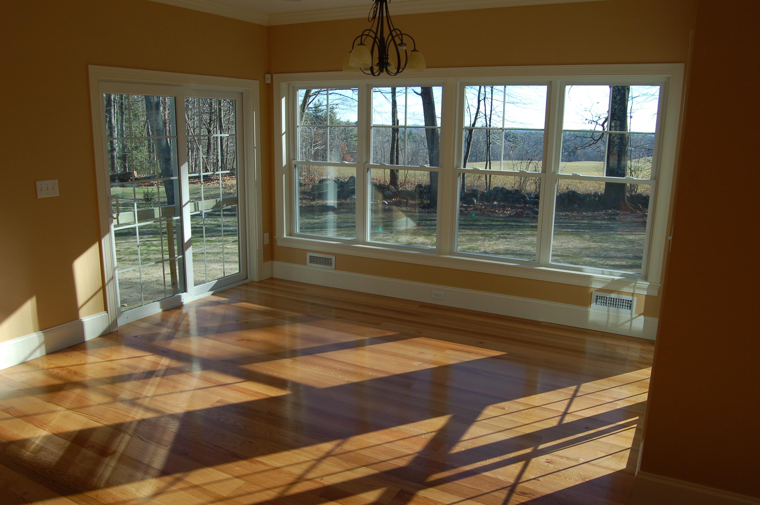 Red Oak Wide Plank Flooring, NH