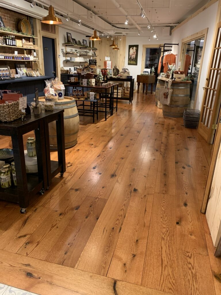 Best wide plank flooring CT