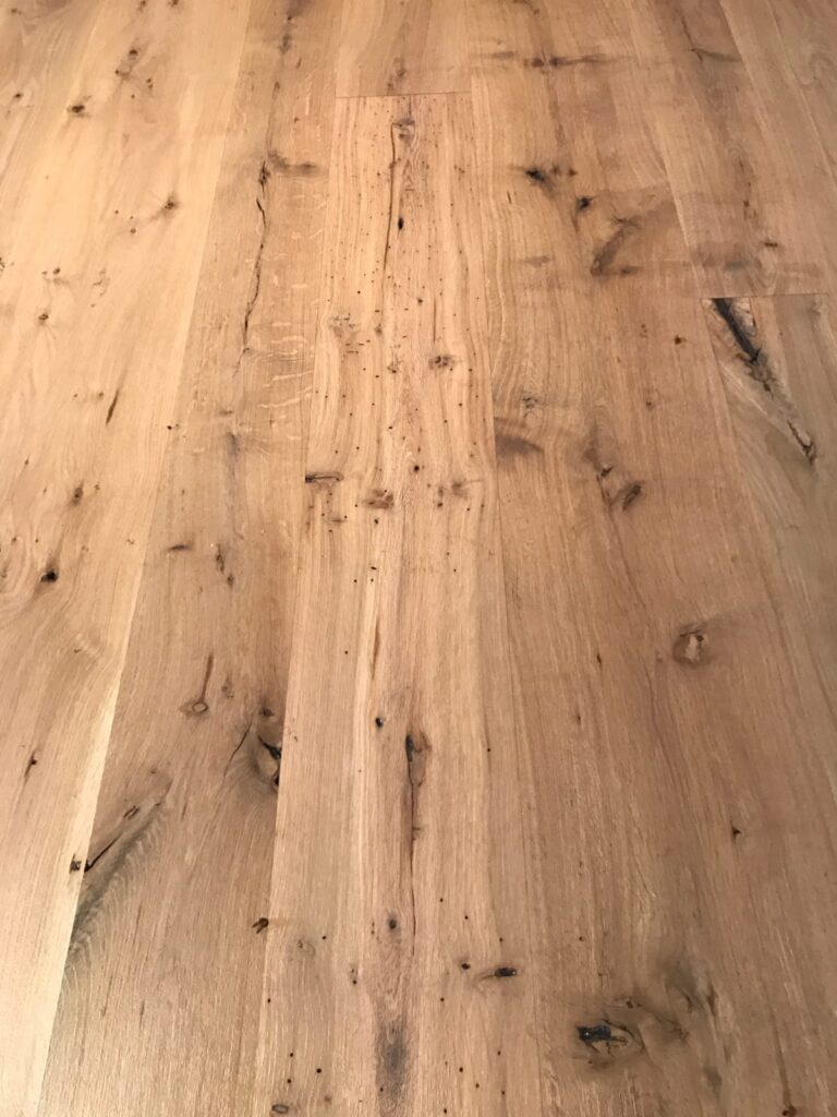 Wide Plank, Quarter Sawn White Oak, Character Grade Vonderosa Wide Plank, Quarter Sawn White Oak, Character Grade, Vonderosa Flooring