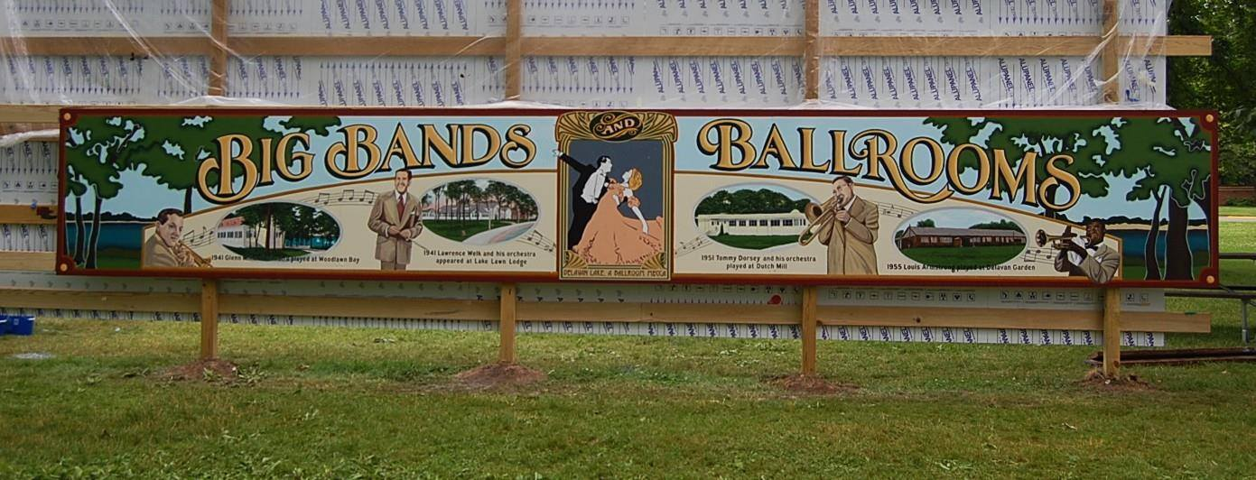 Big Bands & Ballrooms Mural