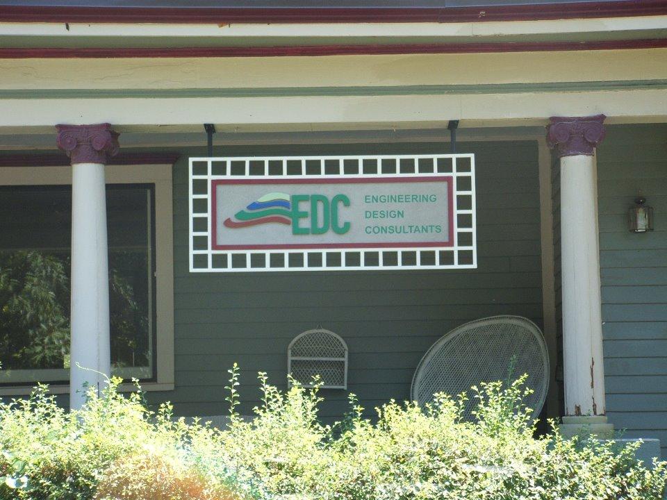 Sign for Historical Preservation District Building