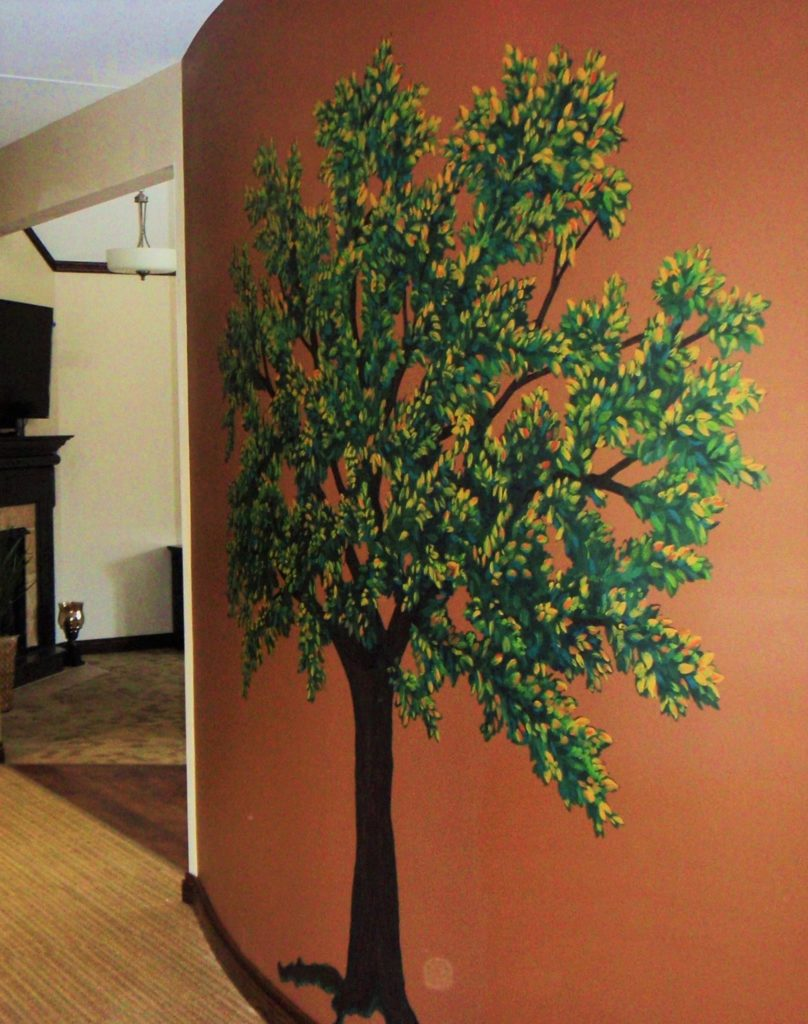 Wall Painting for Hospice