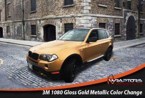 Gold colour change