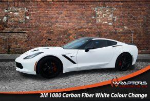 Carbon fibre colour change