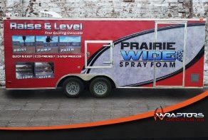 Prairie Wide Spray Foam