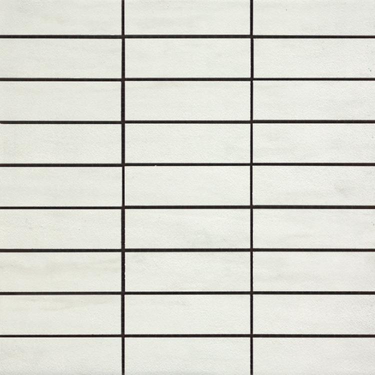 Cremo Bianco Brick Semi-Polished 1.2×4 (12×12 Sheet)