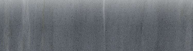 Cremo Nero Bullnose Semi-Polished 3×12