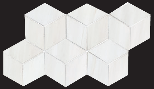 3D Hex Mosaic 7×12