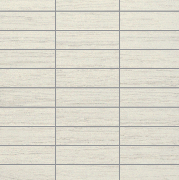 E-Stone White Mosaic 1.25×4
