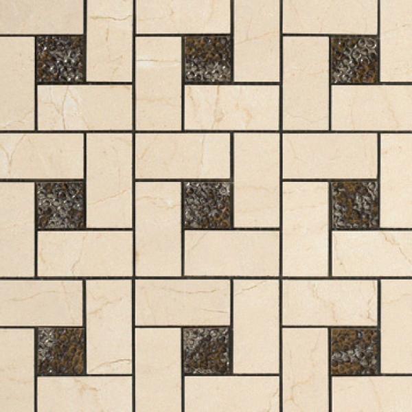 Pinwheel Deco Mosaic 12.6×12.6
