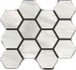 Bardiglio Bianco Natural Hexagon Mosaic 12 X 14 Sheet