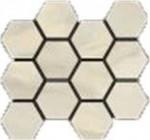 Bardiglio Crema Polished Hexagon Mosaic 12 X 14 Sheet