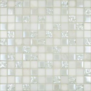 Cordoba White 1 x 1 Mosaic 12 x 12 Sheet
