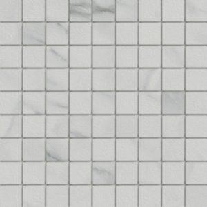 Marmi Statuario 1.5 X 1.5 Mosaic 12 X 12 Sheet
