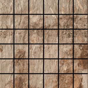 Slate Gold 2 X 2 Mosaic 12 X 12 Sheet