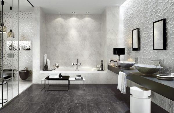Bathroom-Trends-2018-Monochrome-Tiles