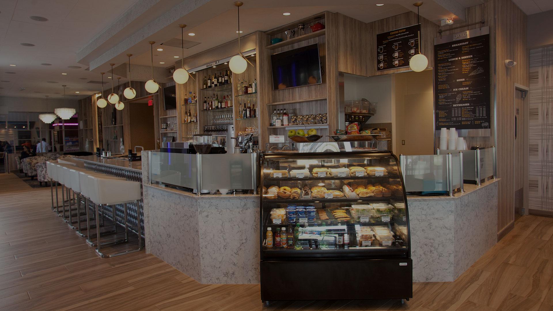 Sixty Gallery - Sixty Cafe & Bar - FantaSea Resorts - Atlantic City, NJ