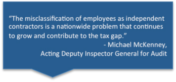 Employee Misclassification quote