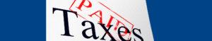 Lang Allan & Company Taxes paid header