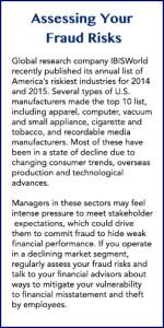 Assessing Fraud Risk Sidebar