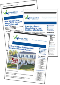 Lang Allan and Company Newsletter