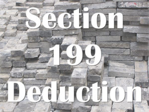 section 199 deduction