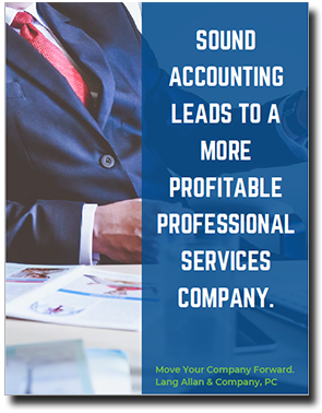 Profitability for Professional Services firms ebook cover