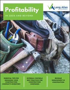 Construction Profitability ebook cover 2020