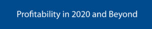 Profitability in 2020 banner