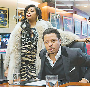 "Taraji P. Henson and Terrence Howard are the major stars of Fox's hit ""Empire.''"