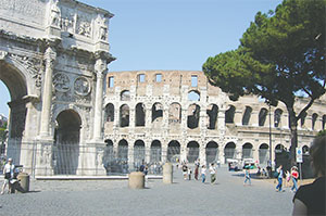 Trajan's Forum is the largest imperial forum in Rome.