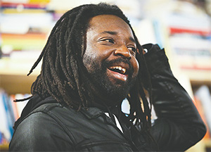 "Author Marlon James is seen at a reading of ""A Brief History of Seven Killings"" last year at Common Good Books in St. Paul, Minn. (RENEE JONES SCHNEIDER/MINNEAPOLIS STAR TRIBUNE/TNS)"