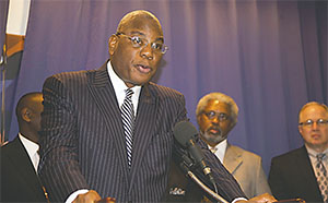 The  Rev. R.B. Holmes, a Tallahassee-based pastor and Black media owner pictured in this file photo, says it's time for current FAMU President Dr. Elmira Mangum to go.(FLORIDA COURIER FILES)