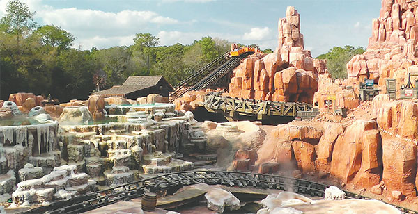 A researcher found that patients passed kidney stones after riding Big Thunder Mountain Railroad at Disney World. The doctor then did tests with Disney's permission.(WALT DISNEY WORLD)