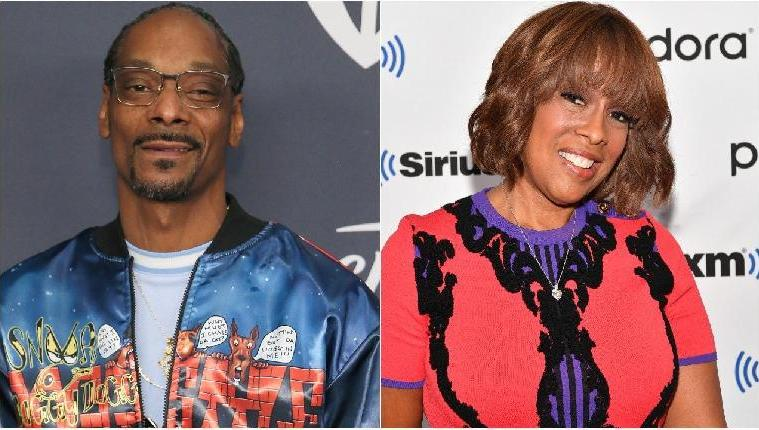 SNOOP DOGG AND GAYLE KING