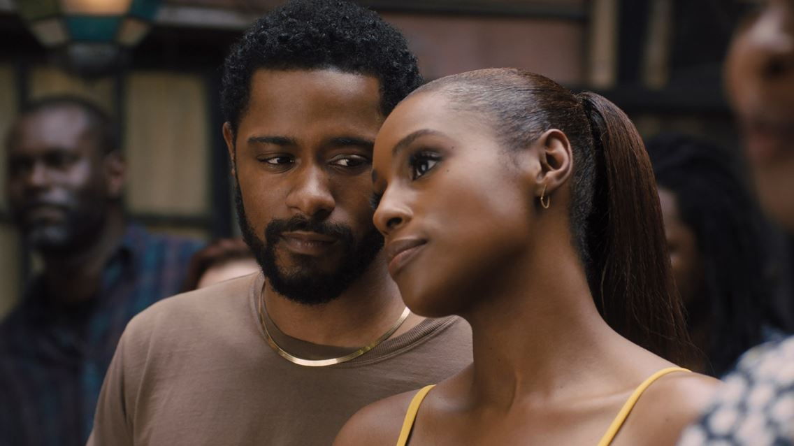 "LaKeith Stanfield and Issa Rae star in ""The Photograph."""