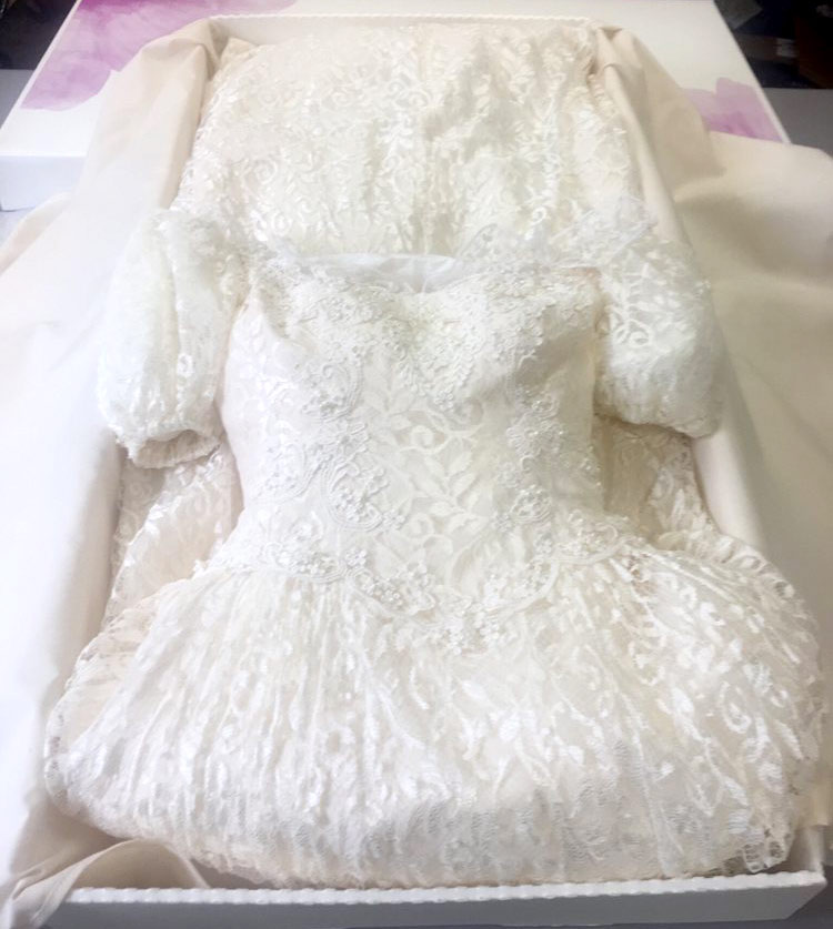 Wedding Dress Cleaning and Preservation in Las Vegas, NV