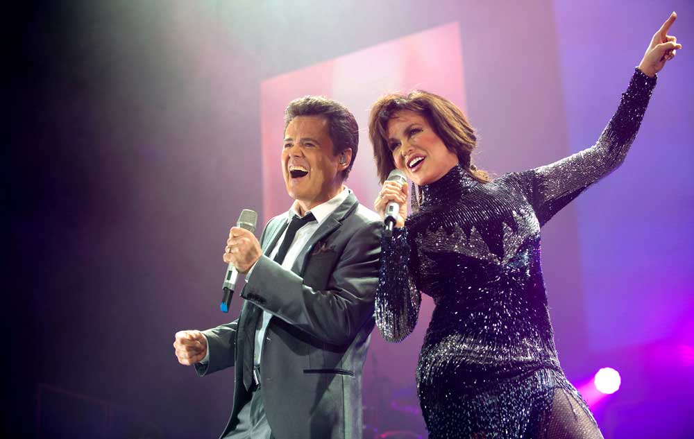 Donny and Marie show clothes