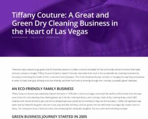 Green Dry Cleaning business in Las Vegas