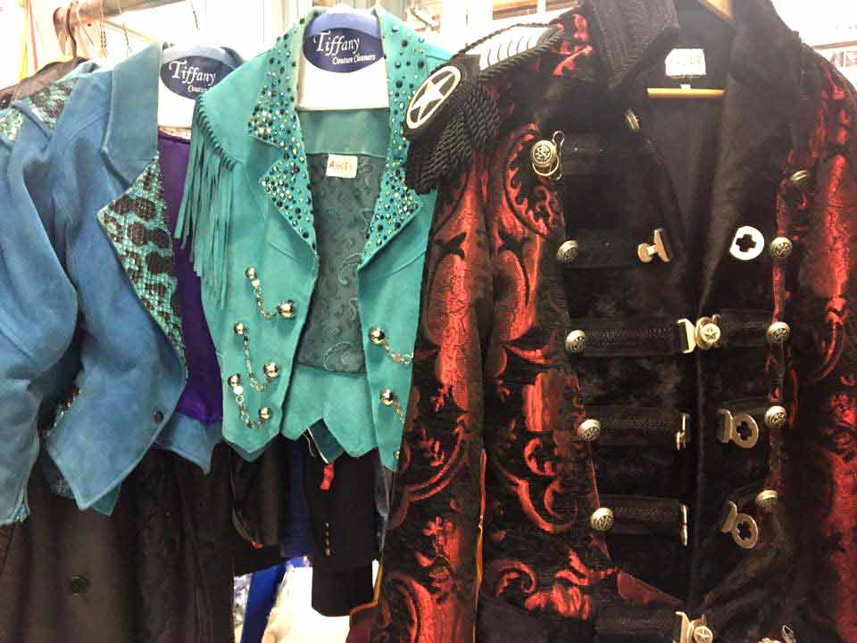shows costumes cleaning