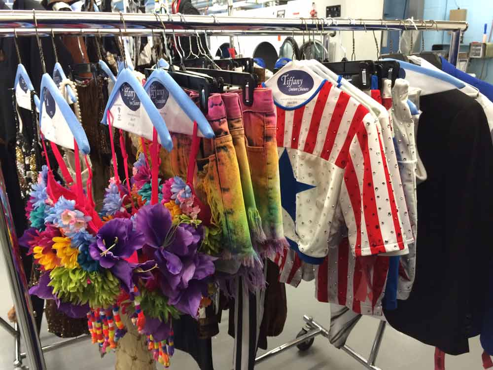 Las Vegas show costume cleaning