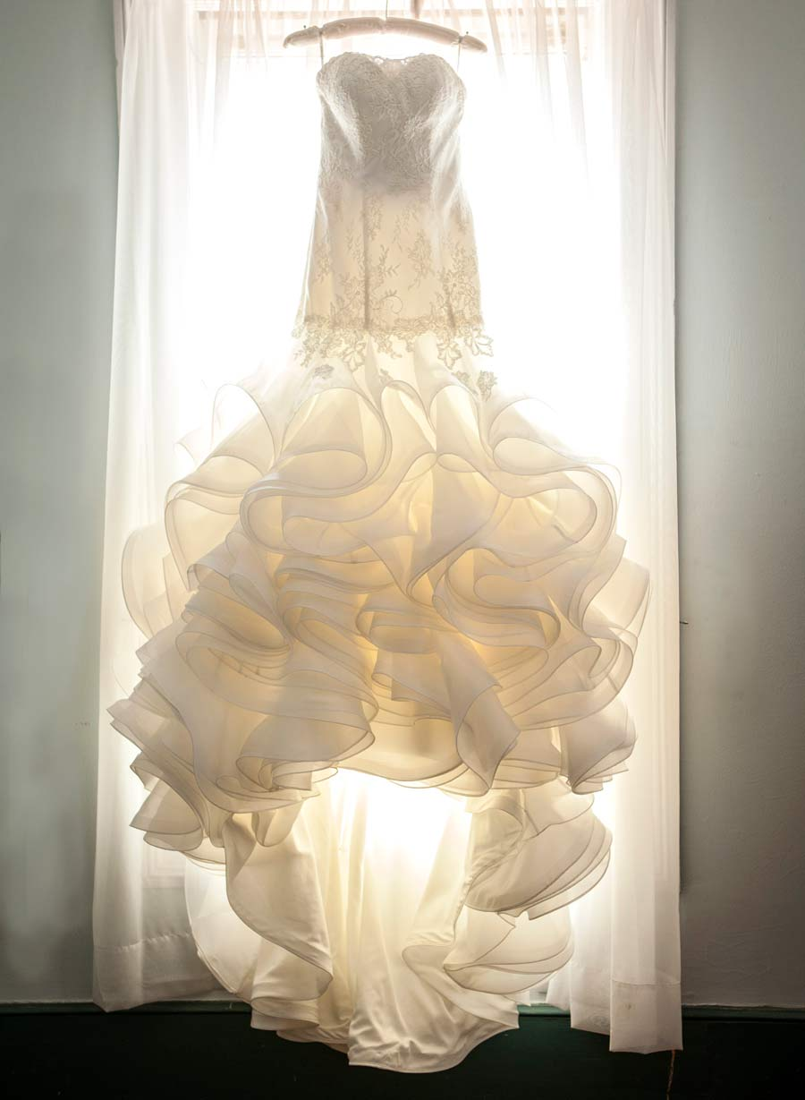 wedding gown cleaning