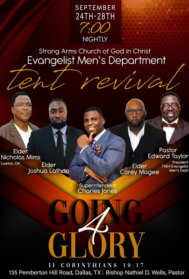 Going 4 Glory Tent Revival