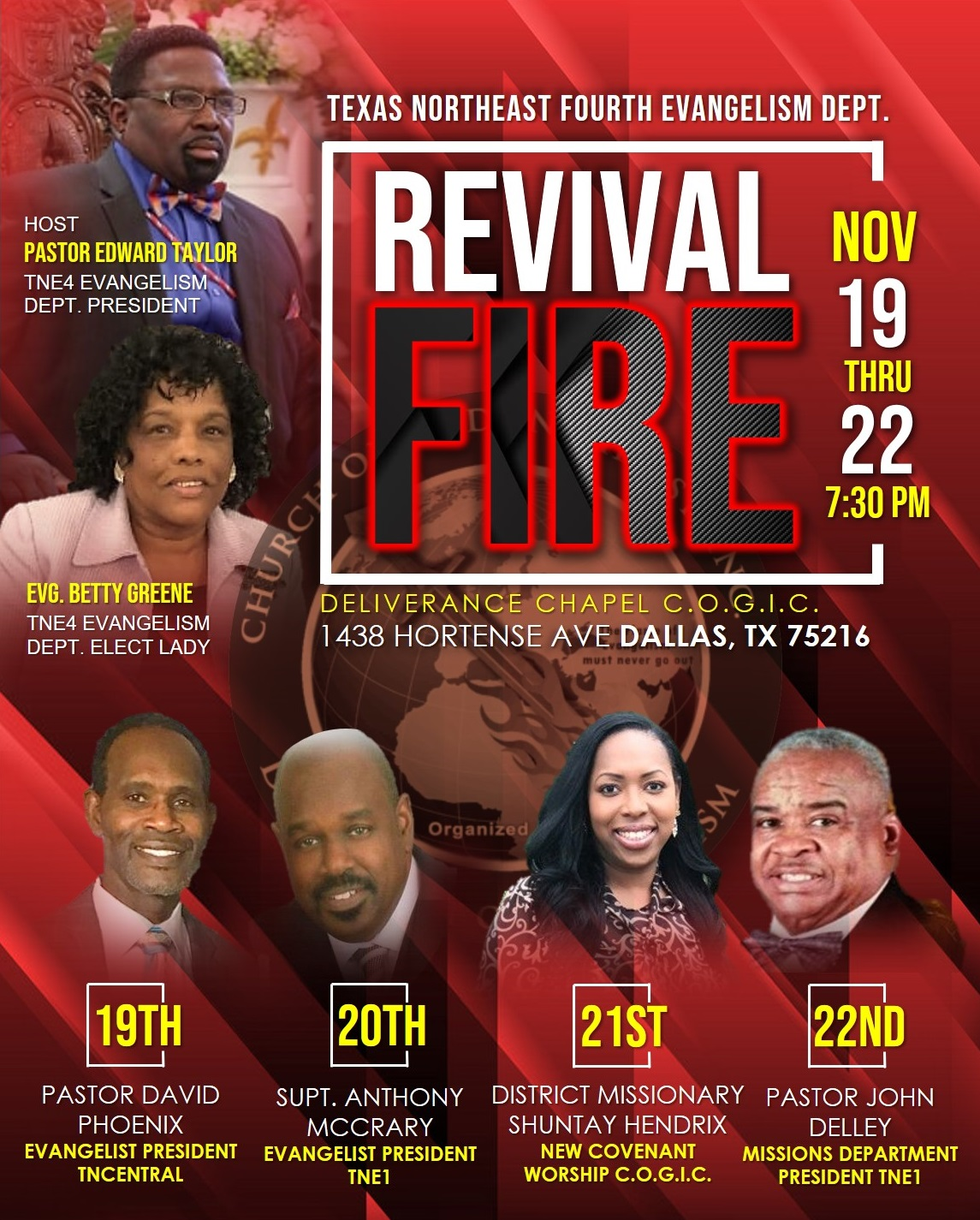 TNE4 Revival Fire