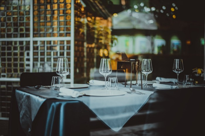 """A """"go safe"""" and """"show safe"""" Approach for Restaurants"""